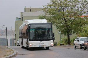 Autocarro Gás Natural ES em testes